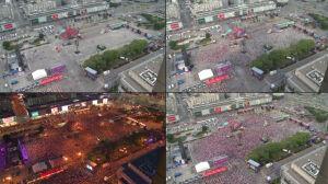 Polska - Rosja w strefie kibica: 100 tysięcy w 92 sekundy