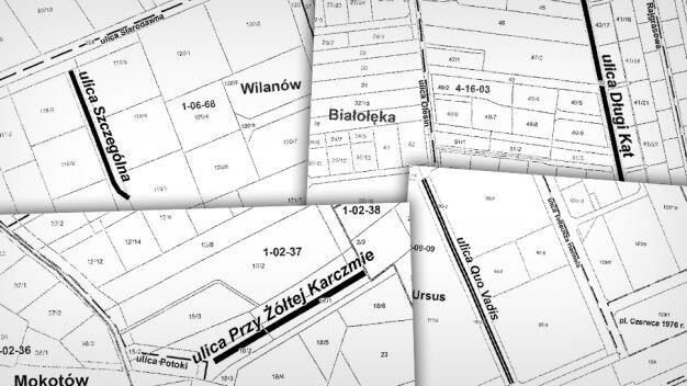 Planują nowe nazwy ulic: Quo Vadis, Szczególna, Długi Kąt