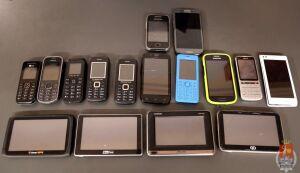 Straciłeś telefon albo nawigację? Policja szuka właścicieli