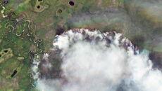 Ogień trawi wschodnią część Syberii (PAP/EPA/ROSCOSMOS HANDOUT)