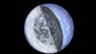 Kosmiczny diament o 10 sekstylionach karatów. Nasze Słońce też może stać się klejnotem