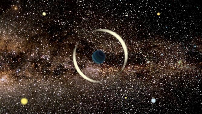 Kosmiczne odkrycie polskich astronomów. <br />Dwie samotne planety, które nie mają gwiazd