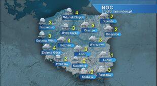 Prognoza pogody na noc 26/27.11