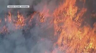 W Wiktorii szaleją pożary, a w Queensland doszło do powodzi