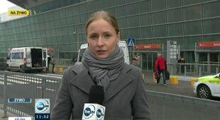 Mgła odpuściła na Lotnisku Chopina (TVN24)
